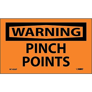 Warning Pinch Points, 3