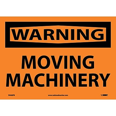 Warning, Moving Machinery, 10