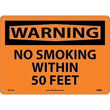 Warning, No Smoking Within 50 Feet, 10