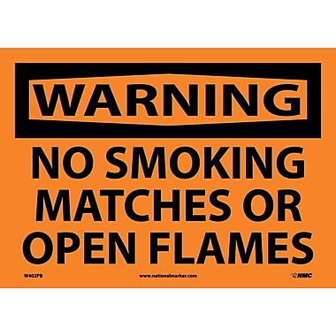 Warning, No Smoking, Matches Or Open Flames, 10