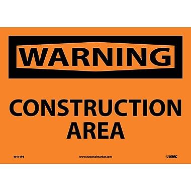 Warning, Construction Area, 10