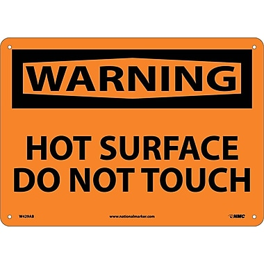 Warning, Hot Surface Do Not Touch, 10