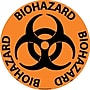 Floor Sign, Walk On, Biohazard, 17 Dia