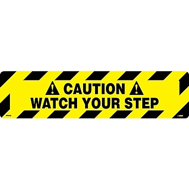 Floor Sign, Walk On, Caution Watch Your Step, 6