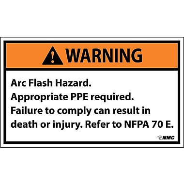 Warning, Arc Flash Hazard .., 3