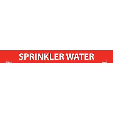 Pipemarker, Adhesive Vinyl, 25/Pack, Sprinkler Water, 1
