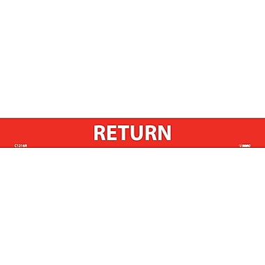 Pipemarker, Adhesive Vinyl, 25/Pack Return, 1