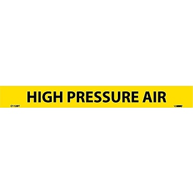 Pipemarker, Adhesive Vinyl, 25/Pack, High Pressure Air, 1