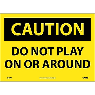 Caution, Do Not Play On Or Around, 10