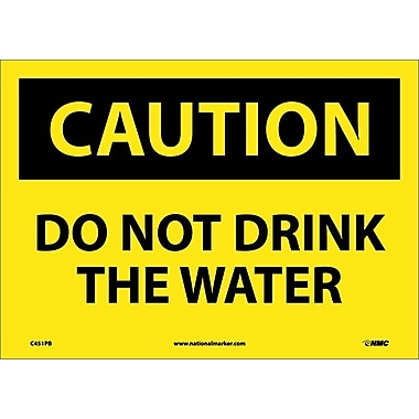 Caution, Do Not Drink The Water, 10