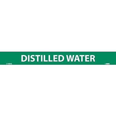 Pipemarker, Adhesive Vinyl, 25/Pack, Distilled Water, 1