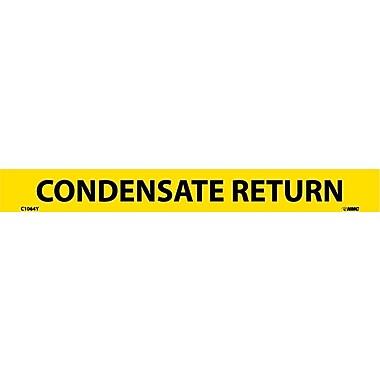 Pipemarker, Adhesive Vinyl, Condensate Return, 1X9 1/2
