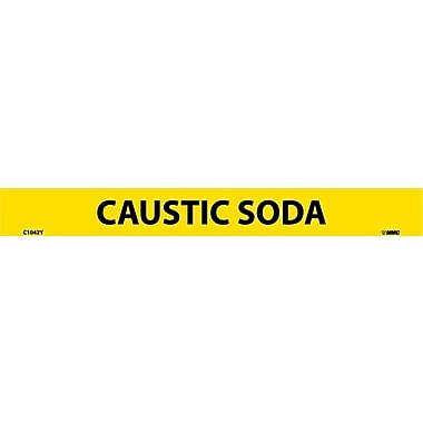 Pipemarker, Adhesive Vinyl, Caustic Soda, 1X9 1/2