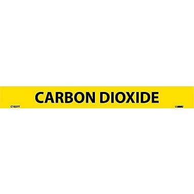 Pipemarker, Adhesive Vinyl, Carbon Dioxide, 1X9 1/2