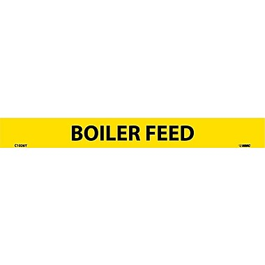 Pipemarker, Adhesive Vinyl, Boiler Feed, 1X9 1/2