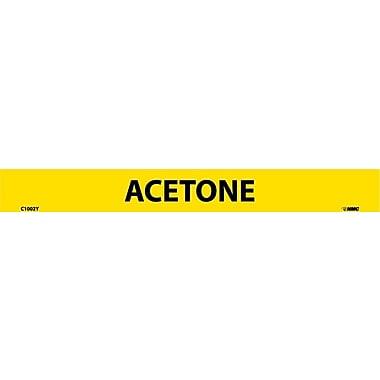 Pipemarker, Adhesive Vinyl, Acetone, 1X9 1/2