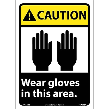Caution, Wear Gloves In This Area, 14