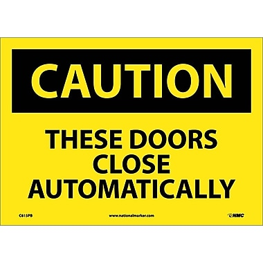 Caution, These Doors Close Automatically, 10