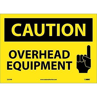 Caution, Overhead Equipment, Graphic, 10