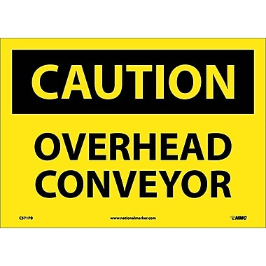 Caution, Overhead Conveyor, 10