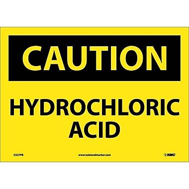 Caution, Hydrochloric Acid, 10