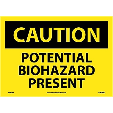 Caution, Potential Biohazard Present, 10