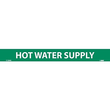 Pipemarker, Hot Water Supply, 1