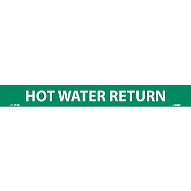 Pipemarker, Hot Water Return, 1