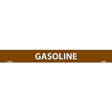 Pipemarker, Gasoline, 1X9, 1/2 Letter, Adhesive Vinyl