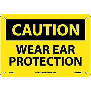Caution, Wear Ear Protection, 7