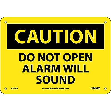 Caution, Do Not Open Alarm Will Sound, 7