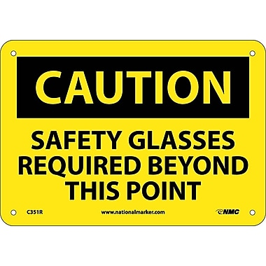 Caution, Safety Glasses Required Beyond This Point, 7