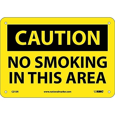 Caution, No Smoking In This Area, 7