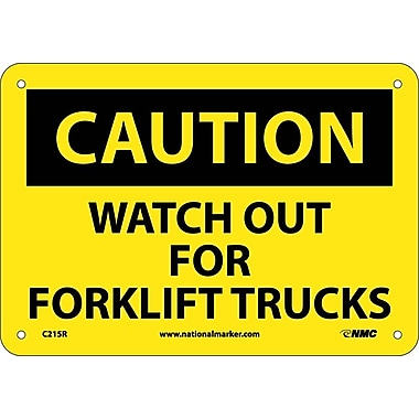 Caution, Watch Out for Fork Lift Trucks, 7