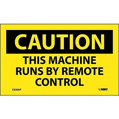 Caution, This Machine Runs By Remote Control, 3