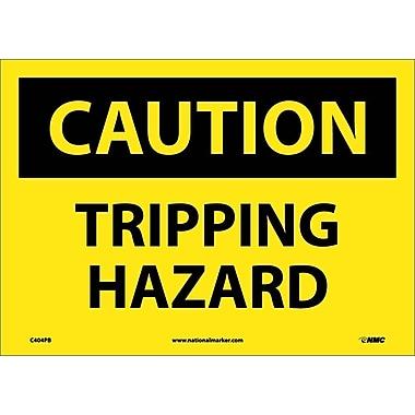 Caution, Tripping Hazard, 10