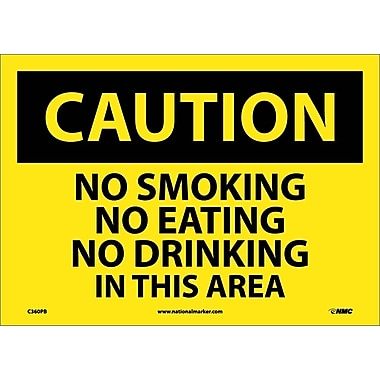 Caution, No Smoking No Eating No Drinking..., 10