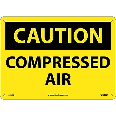 Caution, Compressed Air, 10