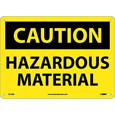 Caution, Hazardous Material, 10