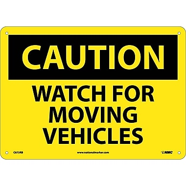 Caution, Watch for Moving Vehicles, 10
