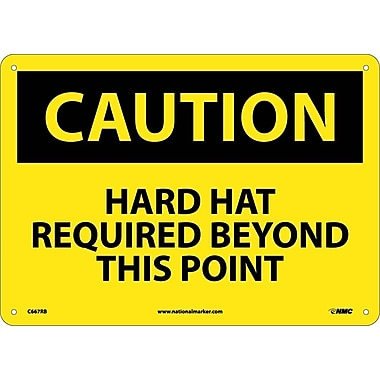 Caution, Hard Hat Required Beyond This Point, 10