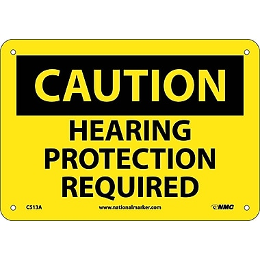 Caution, Hearing Protection Required, 7