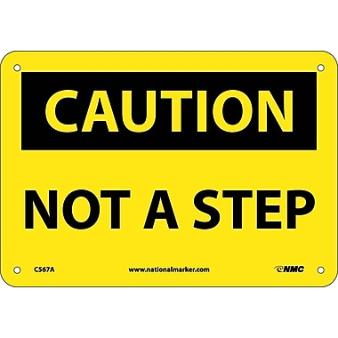 Caution, Not A Step, 7