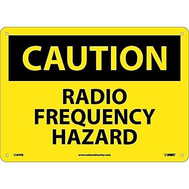 Caution, Radio Frequency Hazard, 10