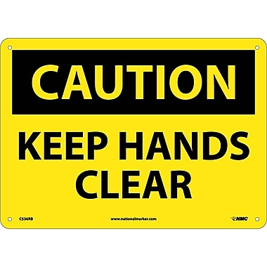 Caution, Keep Hands Clear, 10