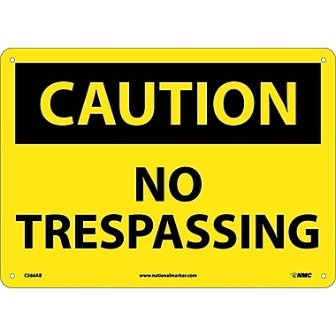Caution, No Trespassing, 10