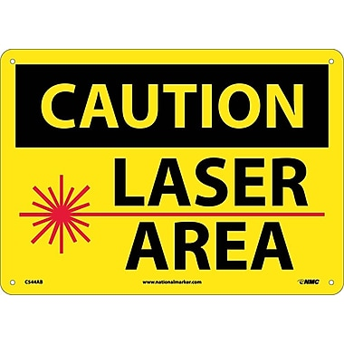 Caution, Laser Area, Graphic, 10