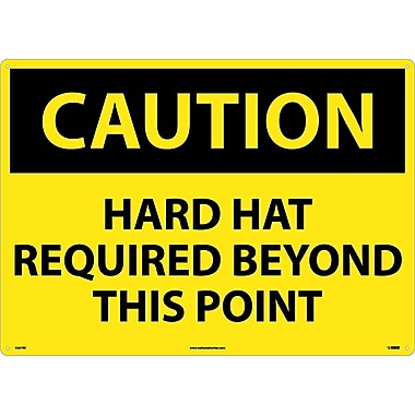 Caution, Hard Hat Required Beyond This Point, 20