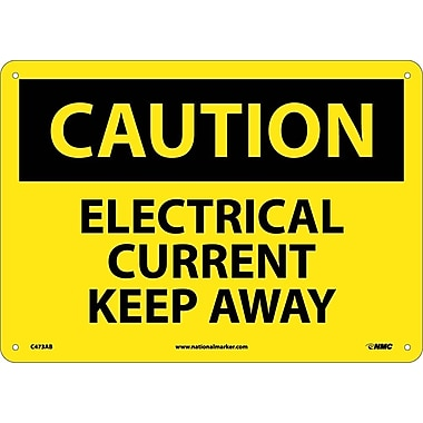 Caution, Electrical Current Keep Away, 10