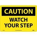 Caution, Watch Your Step, 10X14, .040 Aluminum